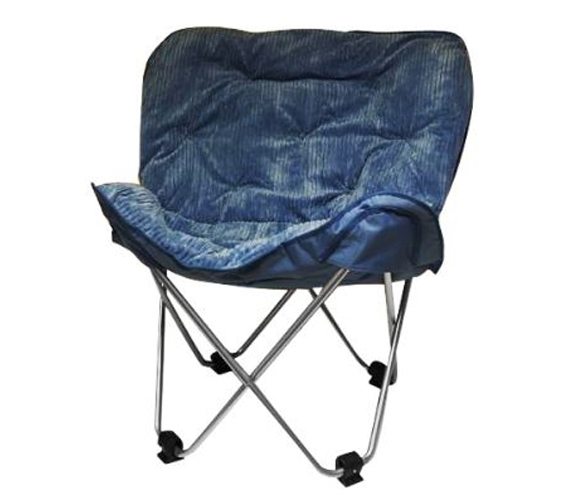 Oversized Butterfly Chair   Blue