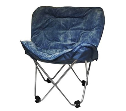 Dorm Item - Oversized Butterfly Chair - Blue - College Seating