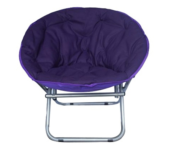 Product Reviews  sc 1 st  Dorm Co & Comfort Padded Moon Chair - Downtown Purple College Shopping Seating ...