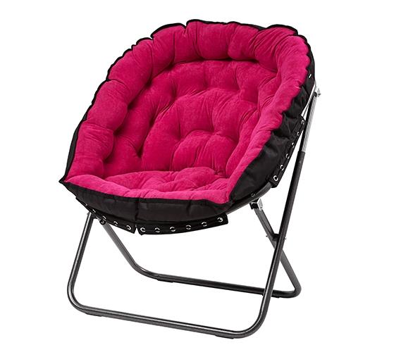 Papasan Moon Chair Pink Girls Dorm Chair Cute And Comfy