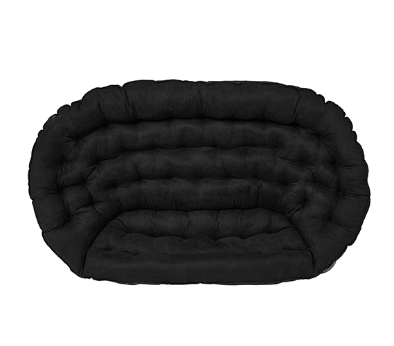 Papasan Dorm Sofa Black Dorm Room Furniture Dorm Chair