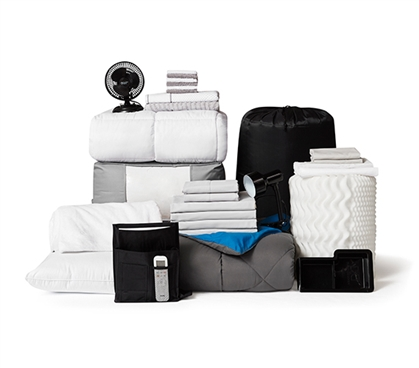 DormCo College Dorm Package - 3 Fully-Loaded Pack for College Students