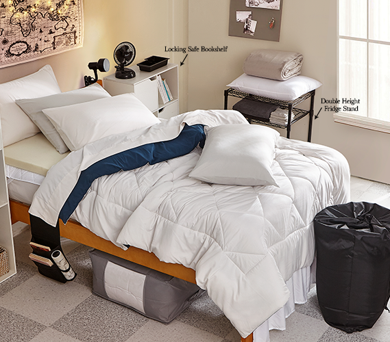 Fully-Loaded Pack - Dorm Bedding + Essentials #3 Package
