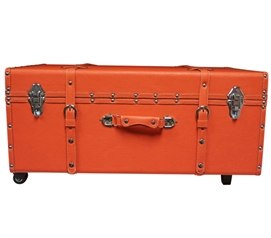 Fusion Coral Sorority College Dorm Trunk Dorm Essentials