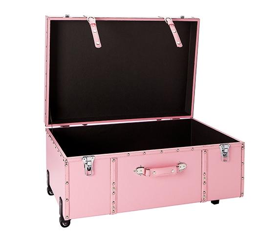 The Sorority College Dorm Trunk   Baby Pink