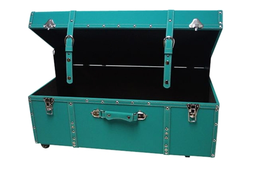 The Sorority College Dorm Trunk Teal