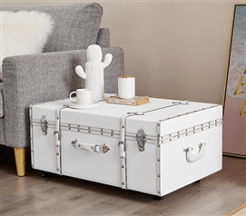 Texture® Brand Trunk - White Chevron