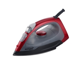 Steam, Dry Spray Iron - Red Dorm Room Essential