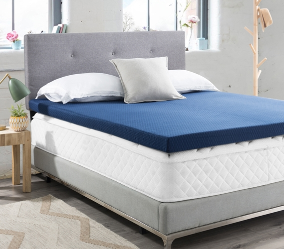 Thick Dorm Mattress Topper Twin Xl Size Memory Foam College Bedding To Make Dorm Bed More Comfortable