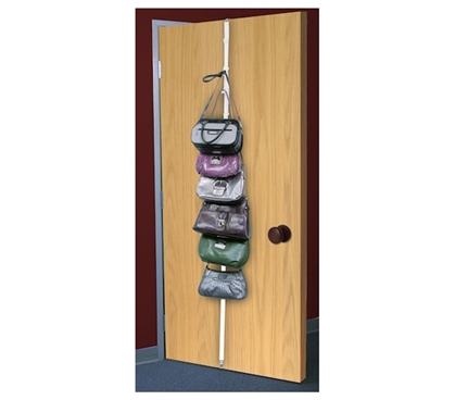 Place It Right Over Your Closet - Overdoor Accessory Organizer - Holds Many Dorm Items