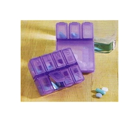Stay Healthy In School - Dorm Pill Cases (Set of 2) - Keep Pills Organized