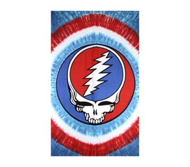 Essential Dorm Decor - Grateful Dead Red White & Blue - Tapestry - Cool Band Stuff