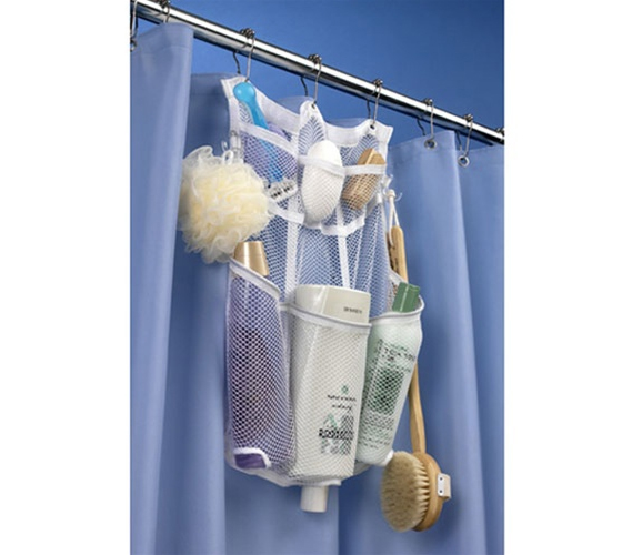 Hanging Shower Organizer shower caddy that stays up in the dorm ...