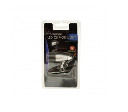 Cool Dorm Item - Bullet High Power LED Clip Light - Great For Studying
