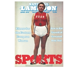 Hilarous National Lampoon USSR Sports - Tin Sign Wall Decor