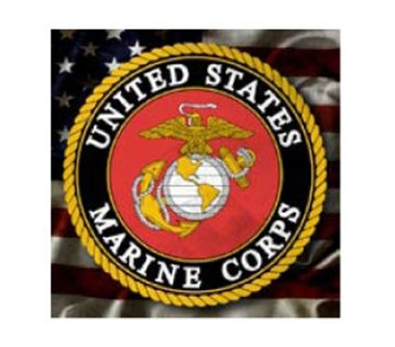 Marine Corps Logo Tin Sign Dorm Room Wall Decor College