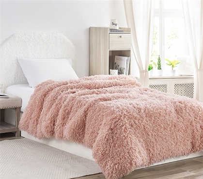 Birds of a Feather - Coma Inducer Twin XL Comforter - Desert Blush