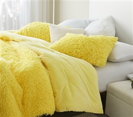 Birds of a Feather - Coma Inducer Standard Sham (2-Pack) - Sunshine Yellow