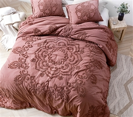Burgundy Sunset Twin XL Comforter
