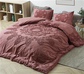 Burgundy Sunset Twin XL Duvet Cover