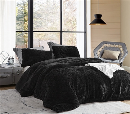 Coma Inducer Twin XL Comforter - Are You Kidding? - Black