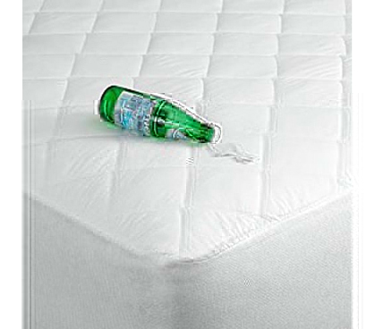Don't Worry About Spills - Perma-Dry Sound-Free Waterproof XL Mattress Pad - Great For Protecting Bed Topper