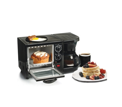 Very Convenient - 3-in-1 Multifunction Breakfast Deluxe - Have A Great Meal In Your Dorm