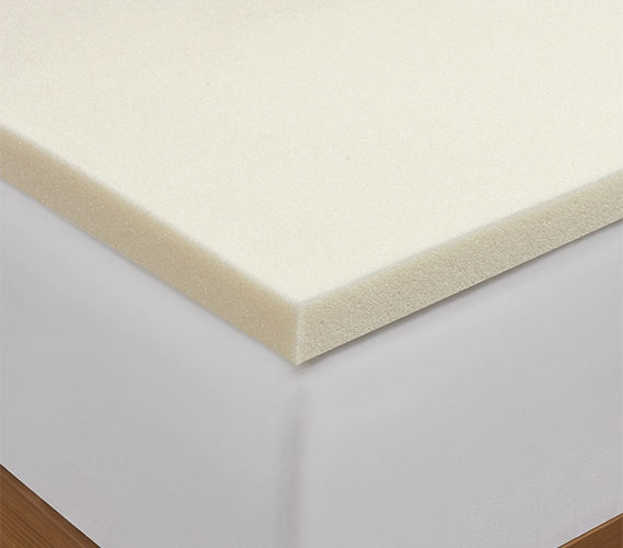 Memory Foam Twin Xl Mattress Topper 1 Inch Thick For Cushion And