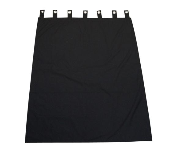 College Blackout Curtain - Black Dorm Room Curtains