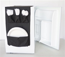 Cookin Caddy® - Over the Fridge Storage Organizer Dorm Essentials