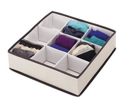 Keeps Dorms Clean - Multi-Compartment Dresser Organizer - Supplies For College