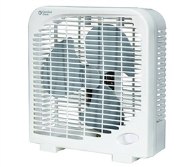 "Bedding Accessories - 9"" Dorm Box Fan"