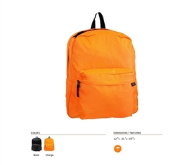 Carry Those Books - Basic College Backpack - Simple Yet Necessary