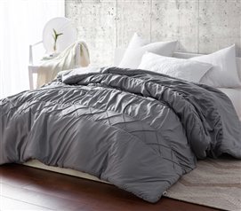 Alloy Criss Cross Waves - Handcrafted Series - Twin XL Comforter