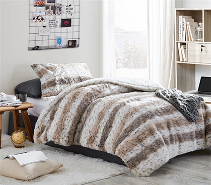 Loafin Leopard - Coma Inducer Twin XL Comforter