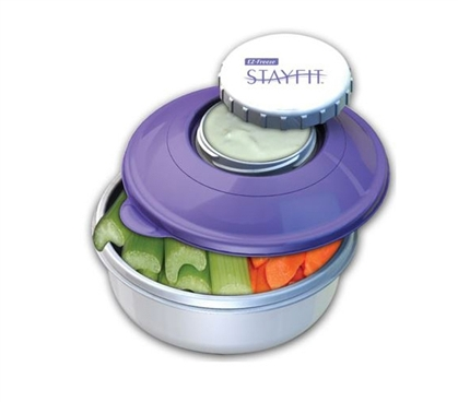 A Dorm Essential - Stay-Chilled Snack Kit Container