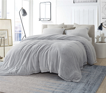 Coma Inducer Twin XL Comforter - Frosted - Granite Gray