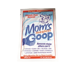 Mom's Magical Goop Stain Remover Packets College Supplies Dorm Necessities Must Have Dorm Items