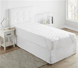 Twin XL College Mattress Pad - Classic Anchor Band