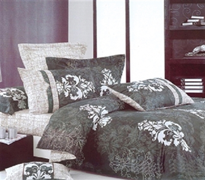 Damask Grove Twin XL Comforter Set - College Ave Designer Series - Great Design