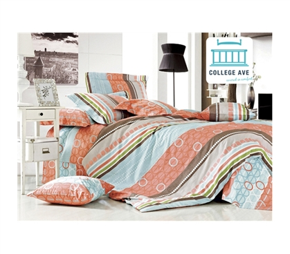 Sea Breeze Twin XL Comforter Set - College Ave Designer Series - Best Twin XL Comforter