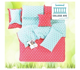 Vibrant Dot Twin XL Comforter Set - College Ave Designer Series - Comforters Made Of Cotton