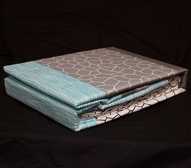 Dove Aqua Twin XL Sheet Set Dorm Essentials