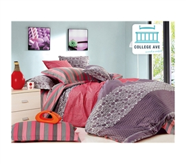 Great Design - Dollie Twin XL Comforter Set - College Ave Designer Series - Soft Bedding For College