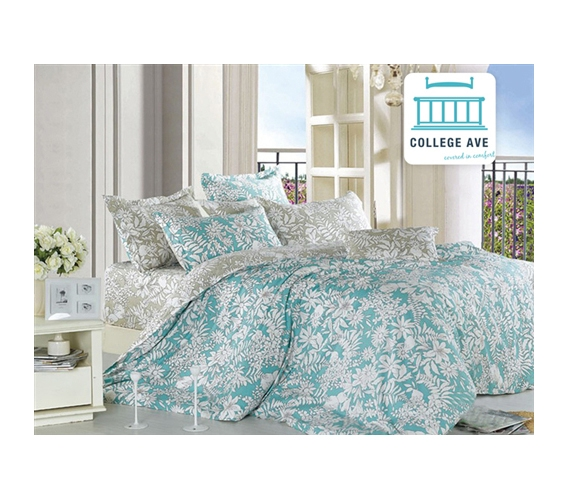 Ashen Teal Twin XL Comforter Set College Ave Designer Series