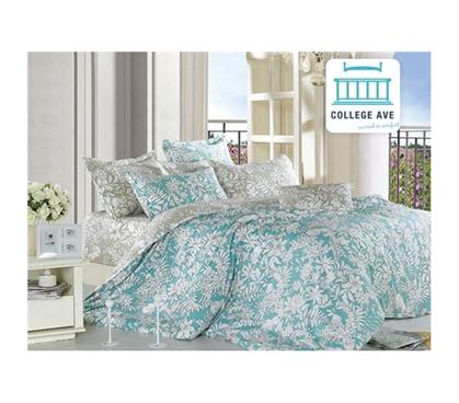 Ashen Teal Twin Comforter Set College Ave Designer Series Dorm Bedding For Students
