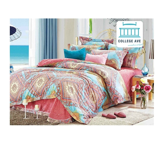 twin xl comforter set Persian Brush Twin XL Comforter Set   College Ave Designer Series  twin xl comforter set