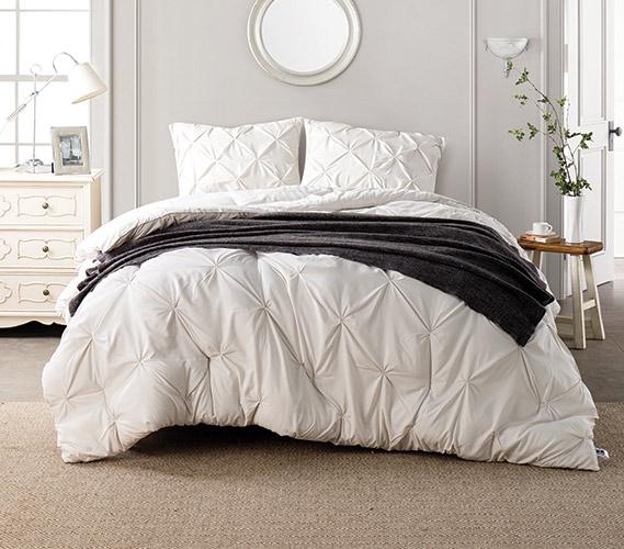 Jet Stream Pin Tuck Twin XL Comforter : twin xl quilts - Adamdwight.com