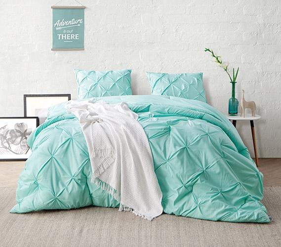 Admirable Yucca Pin Tuck Twin Xl Comforter Download Free Architecture Designs Scobabritishbridgeorg