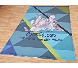 Brings Your Own Touch - Custom Made Duvet  - Your Image Twin/Twin XL - College Items Cool Customization